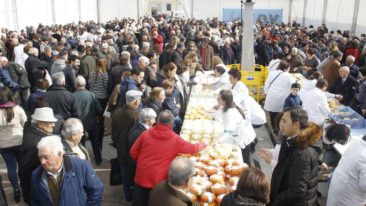 La celebración de la feria del queso de Friol y del pan de Ousá está amenazada por la pandemia
