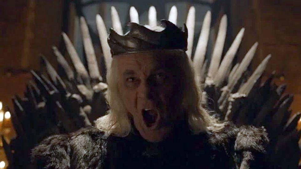 Aerys II Targaryen, más loco que nunca