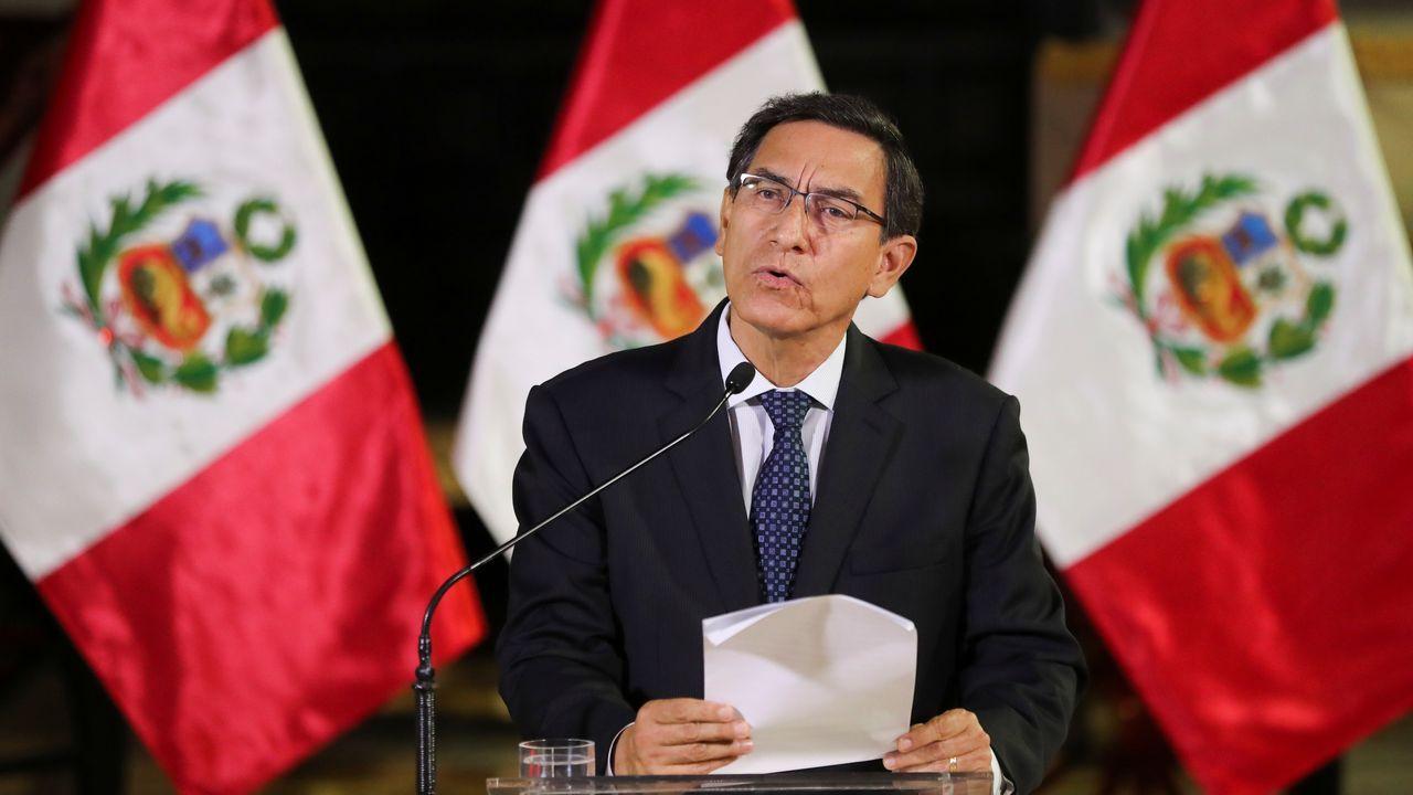 Las condenas a los líderes del «procés» suman 99 años de cárcel.Crisis política en Perú