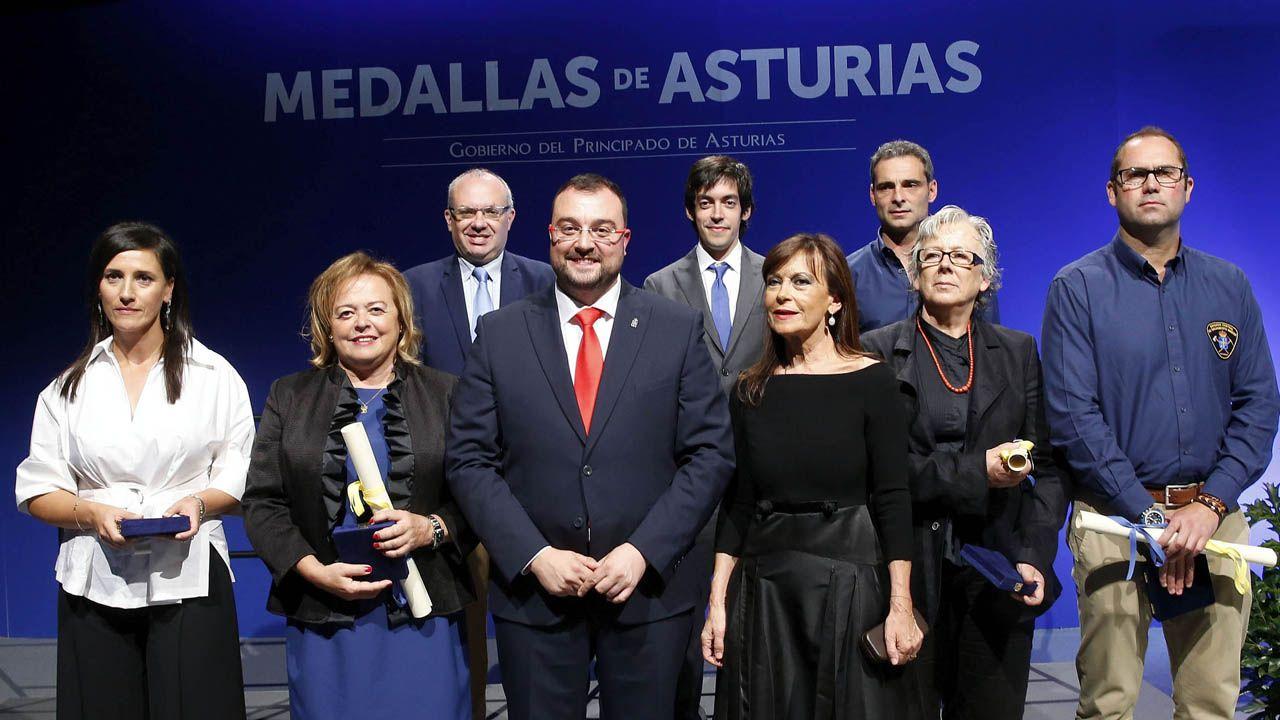 El álbum de las medallas de Asturias 2019.El líder de Ciudadanos en Santa María del Naranco