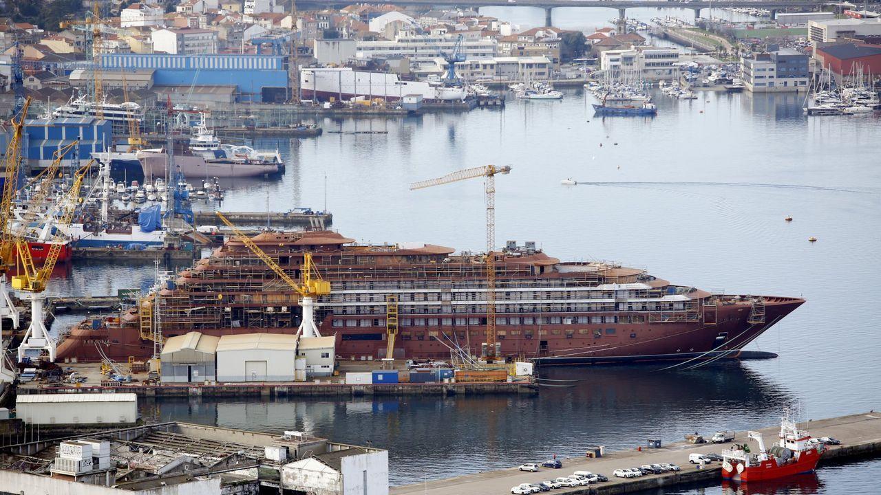Alberto Barreras solicitará pagar Vulcano en 2021.Crucero en Barreras para Ritz Carlton