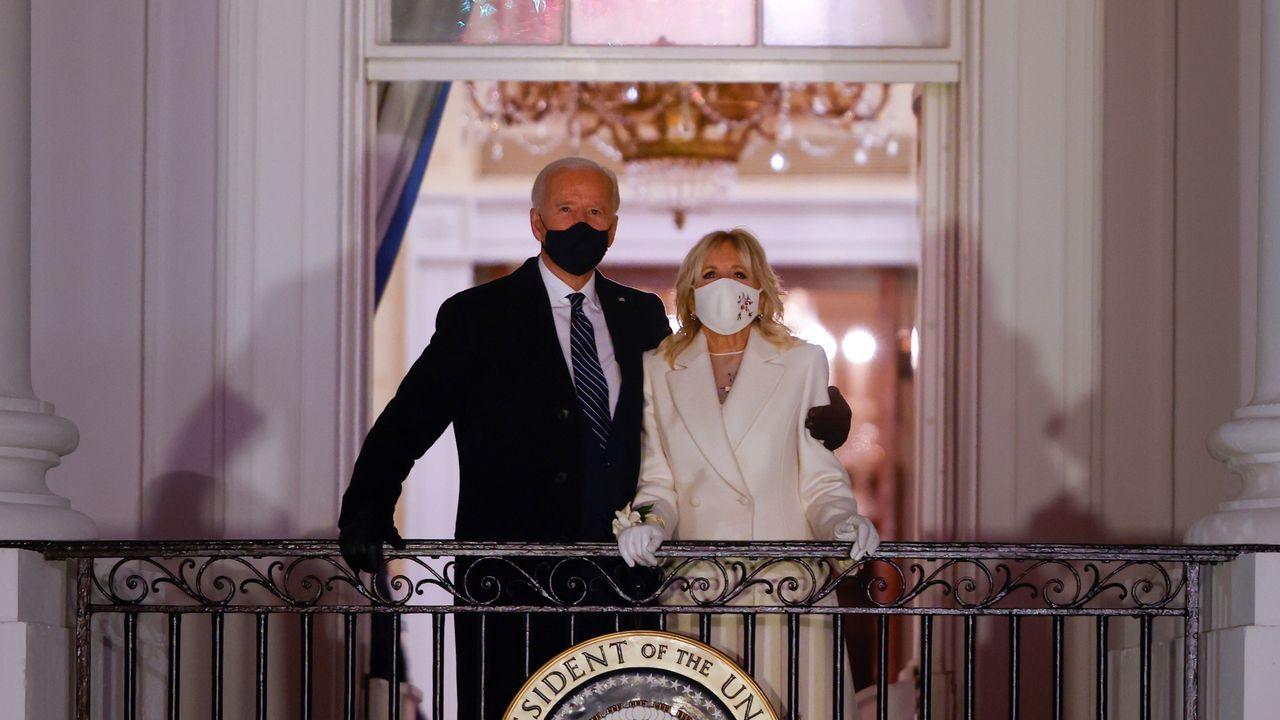 Joe Biden, 46º presidente de los Estados Unidos.Despacho oval