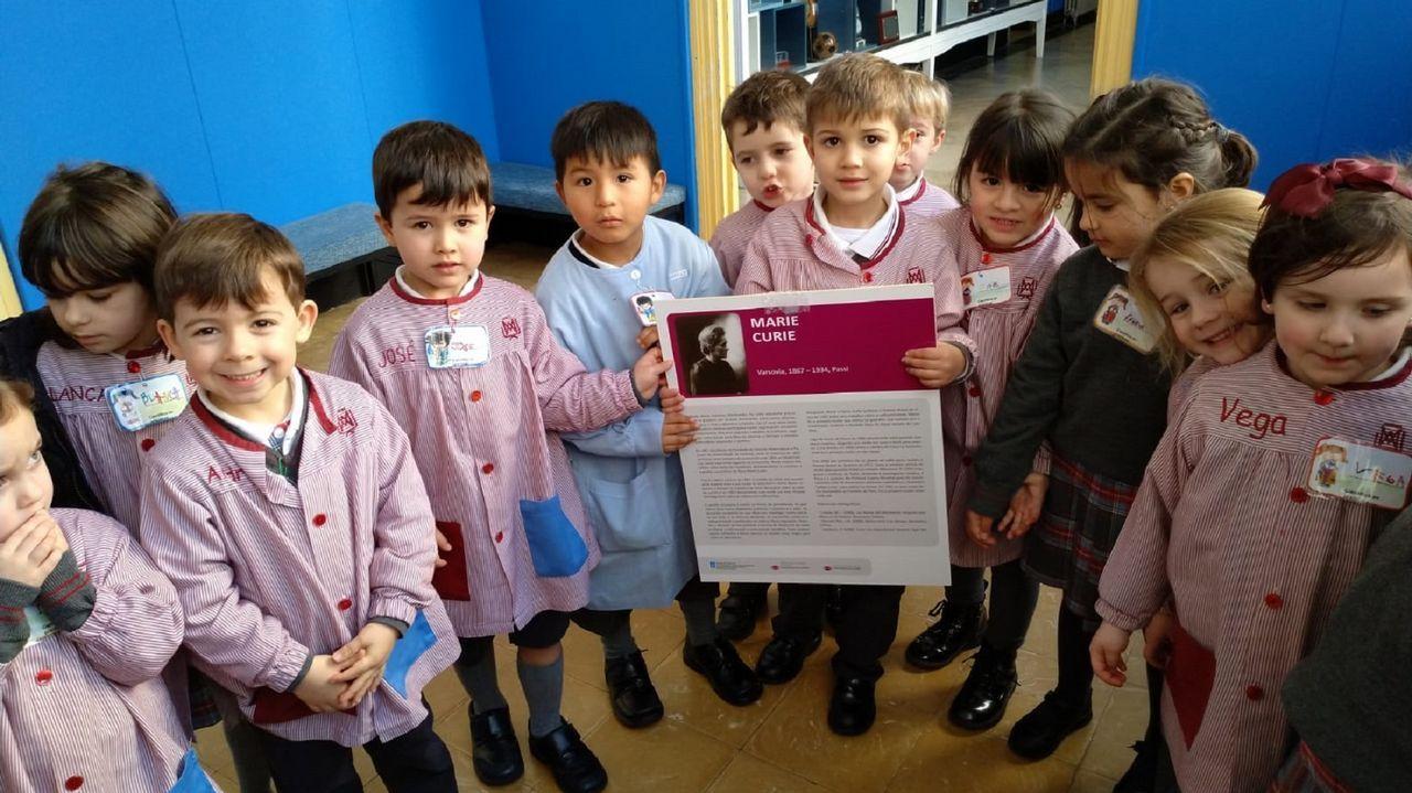 Los niños de Infantil de la Compañía se pusieron un carné de «científicos en prácticas» y descubrieron el trabajo de investigadoras como Marie Curie