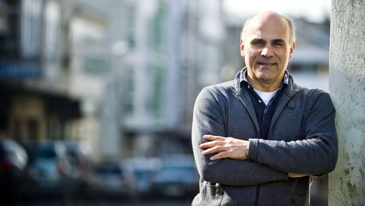 Francisco Bouza Rey, presidente de la asociación de comerciantes y hosteleros de Ortigueira