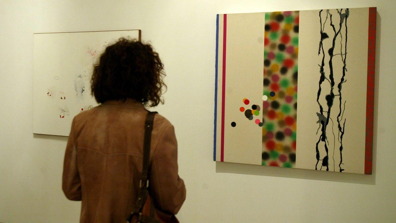 Exposición no Pazo da Cultura de Pontevedra