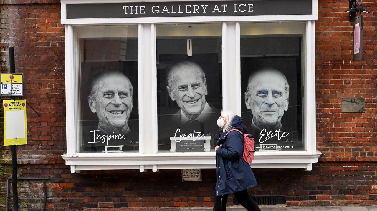 El último adiós al duque de Edimburgo, en imágenes