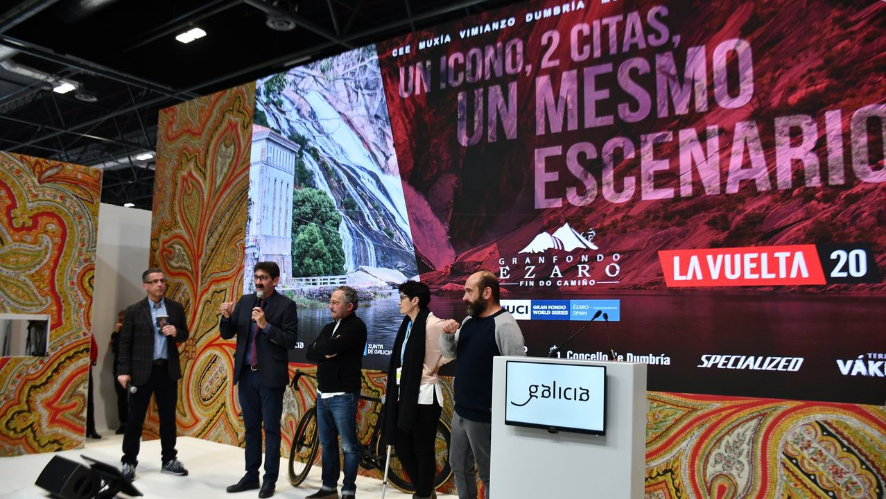 Presentación de las etapas gallegas de La Vuelta 2021