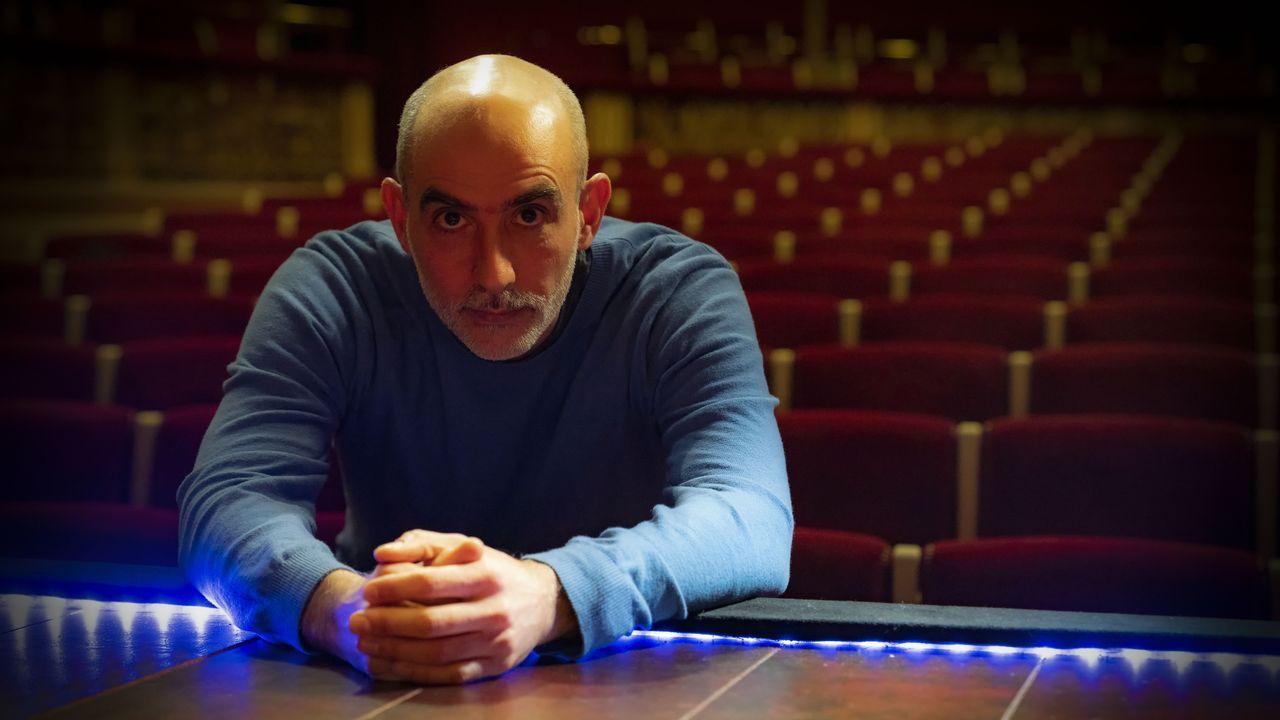 El dramaturgo y director de teatro Alfredo Sanzol (Pamplona, 1972)