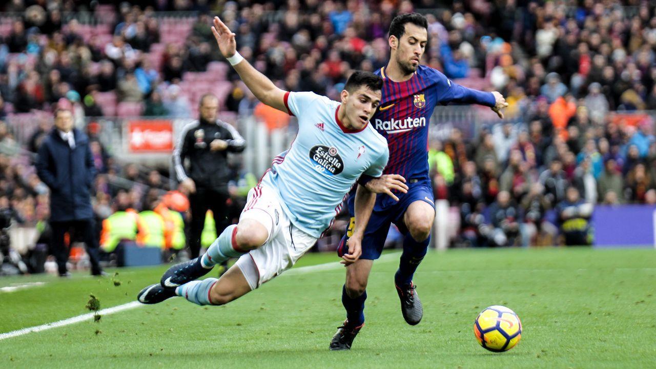 Villar ataca al Gobierno y dice que es el único responsable de que España se pueda quedar sin Mundial.Leo Scaloni junto a Messi y Mascherano en Barcelona