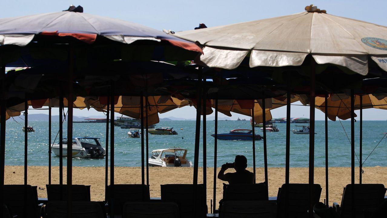 Playa en Phuket, Tailandia.