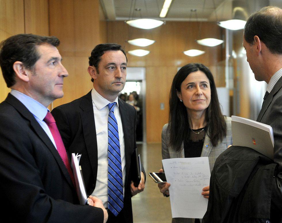 Soria comparecerá previsiblemente el martes en el Congreso.Industria e Igape presentaron los fondos en la Xunta.