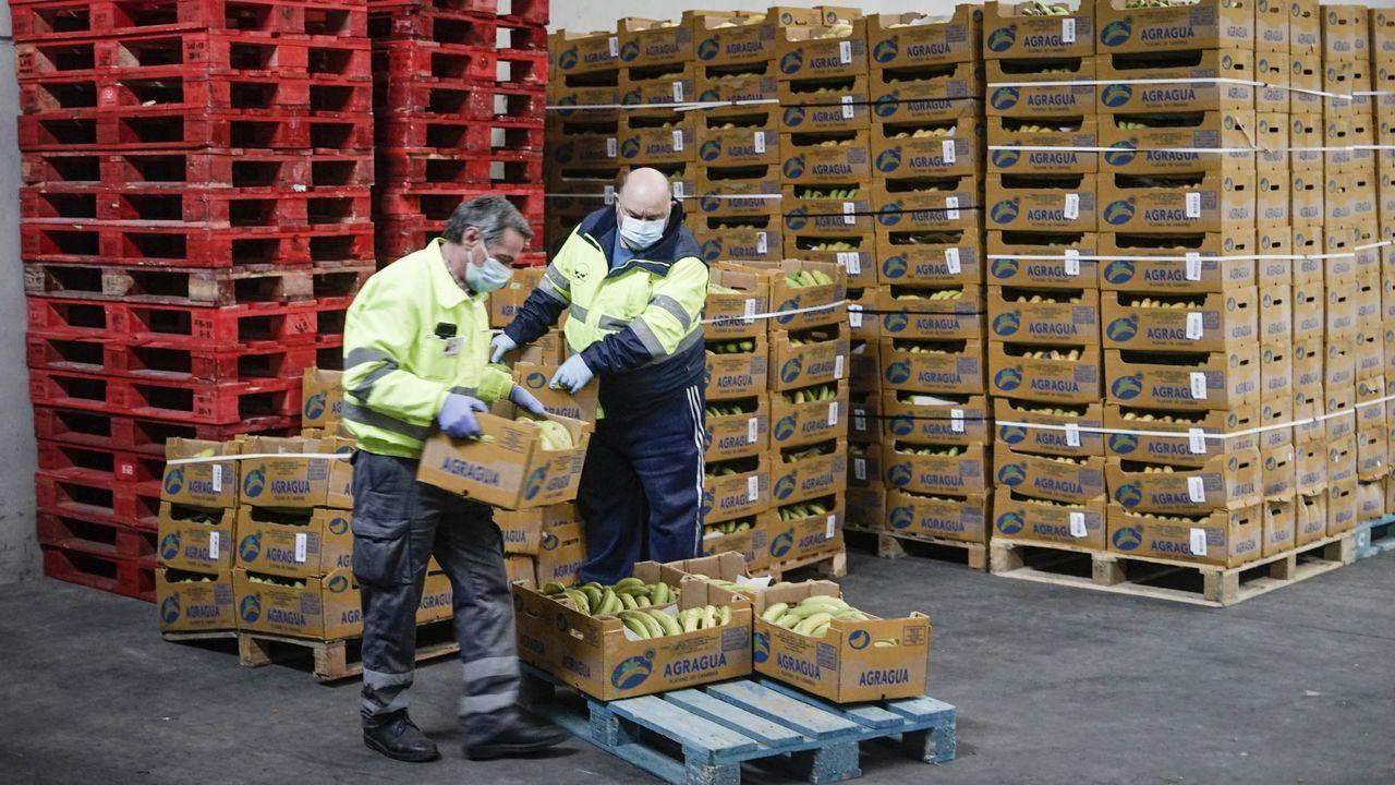 Imagen de la nave del Banco de Alimentos de Ourense