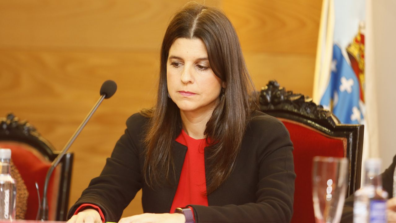 Eva Fernández de la Calle, directora de Fundición en la planta de aluminio primario de Alcoa en San Cibrao