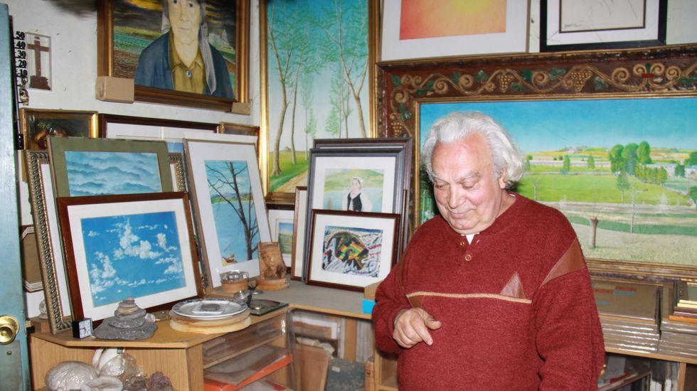Yosso atesoraba su obra en su casa de Valbuxán