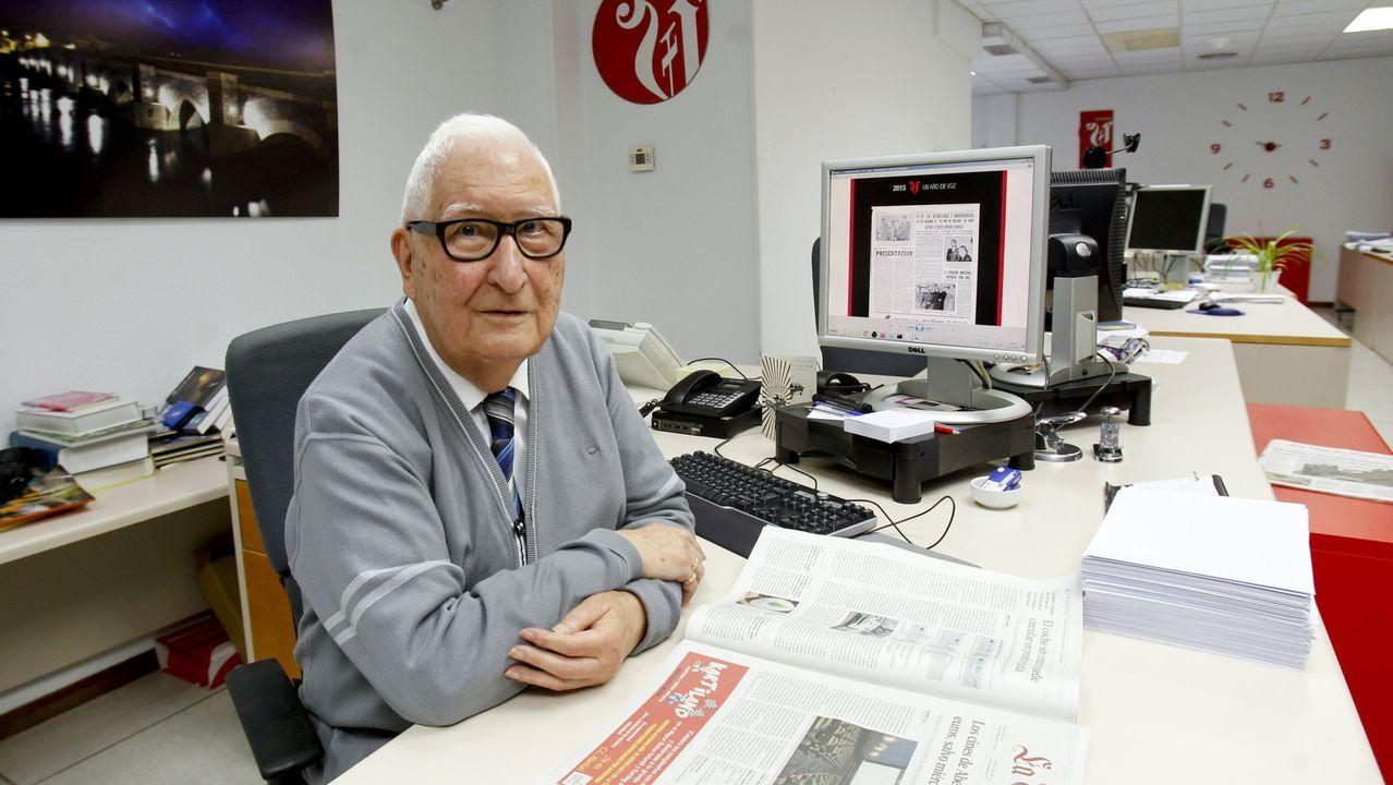 Rafael Vilaseca, el periodista que cambio la profesión en Lugo.La Compañía Nacional de Teatro Clásico representará el 20 de marzo «Entre bobos anda el juego»