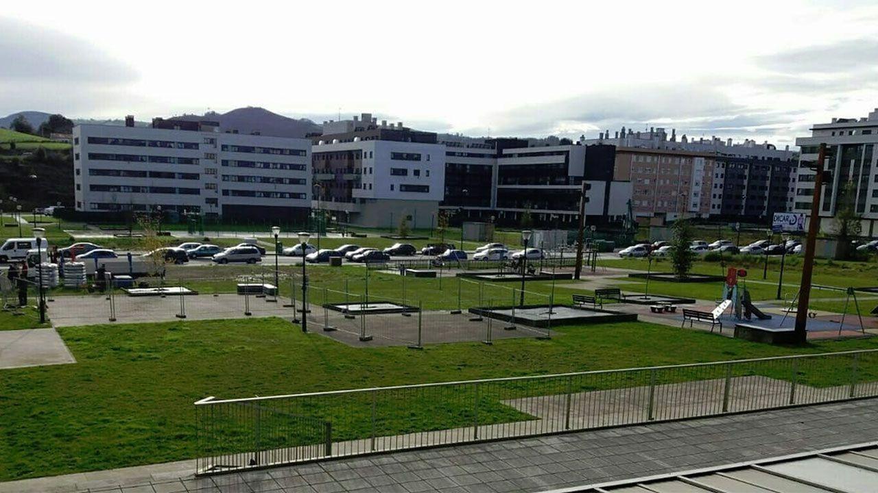 Vista general del barrio de Nuevo Roces.
