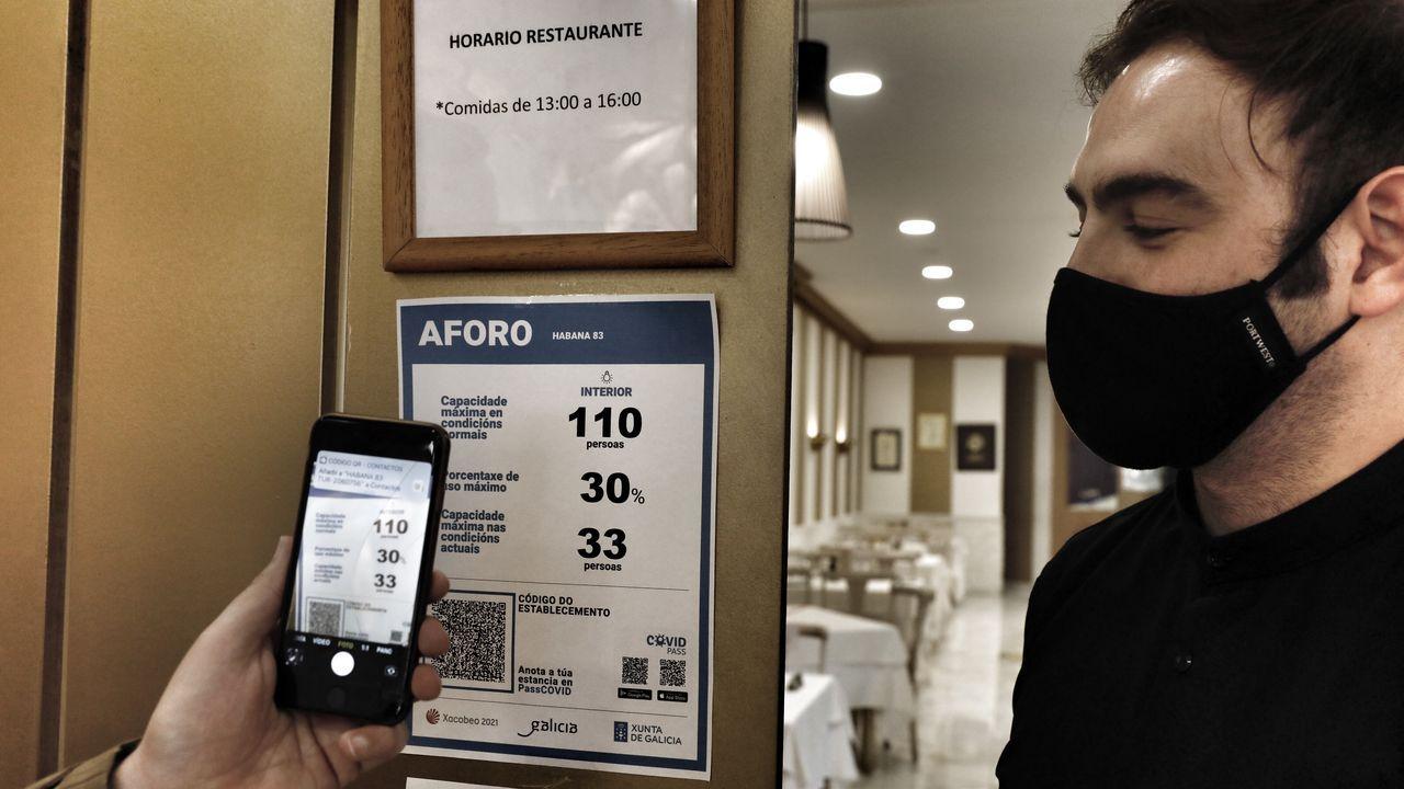 El nuevo hotel de cuatro estrellas de Ourense toma forma.Carlos Álvarez, del pub Ceda el Vaso de Ourense