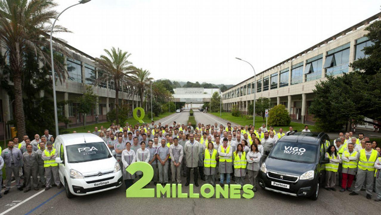 Así luce la nueva Citroën Berlingo.Planta de Opel en Figueruelas (Zaragoza)