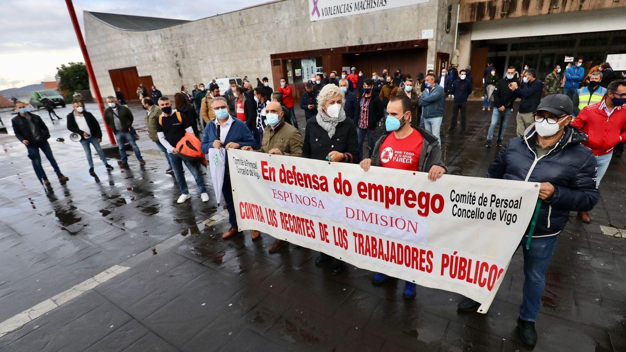 Los sindicatos del Concello de Vigo, contra la gestión de Espinosa