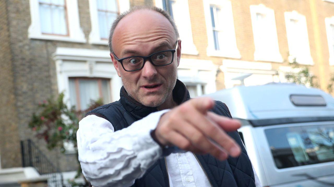 El controvertido Dominic Cummings, cerebro de la campaña a favor del «brexit» en el referendo del 2016 y ahora mano derecha de Boris en Downing Street
