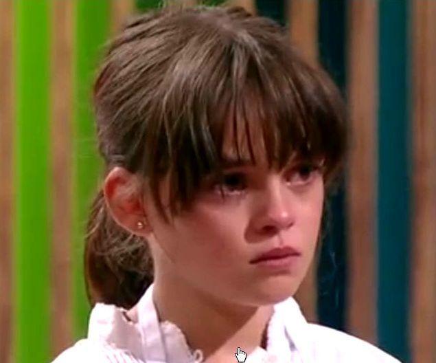 Ana no pudo evitar las lágrimas cuando supo que se iba.