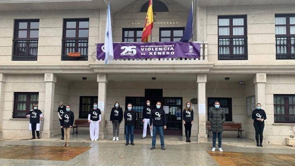 Concentración del 25N en Vilamartín de Valdeorras