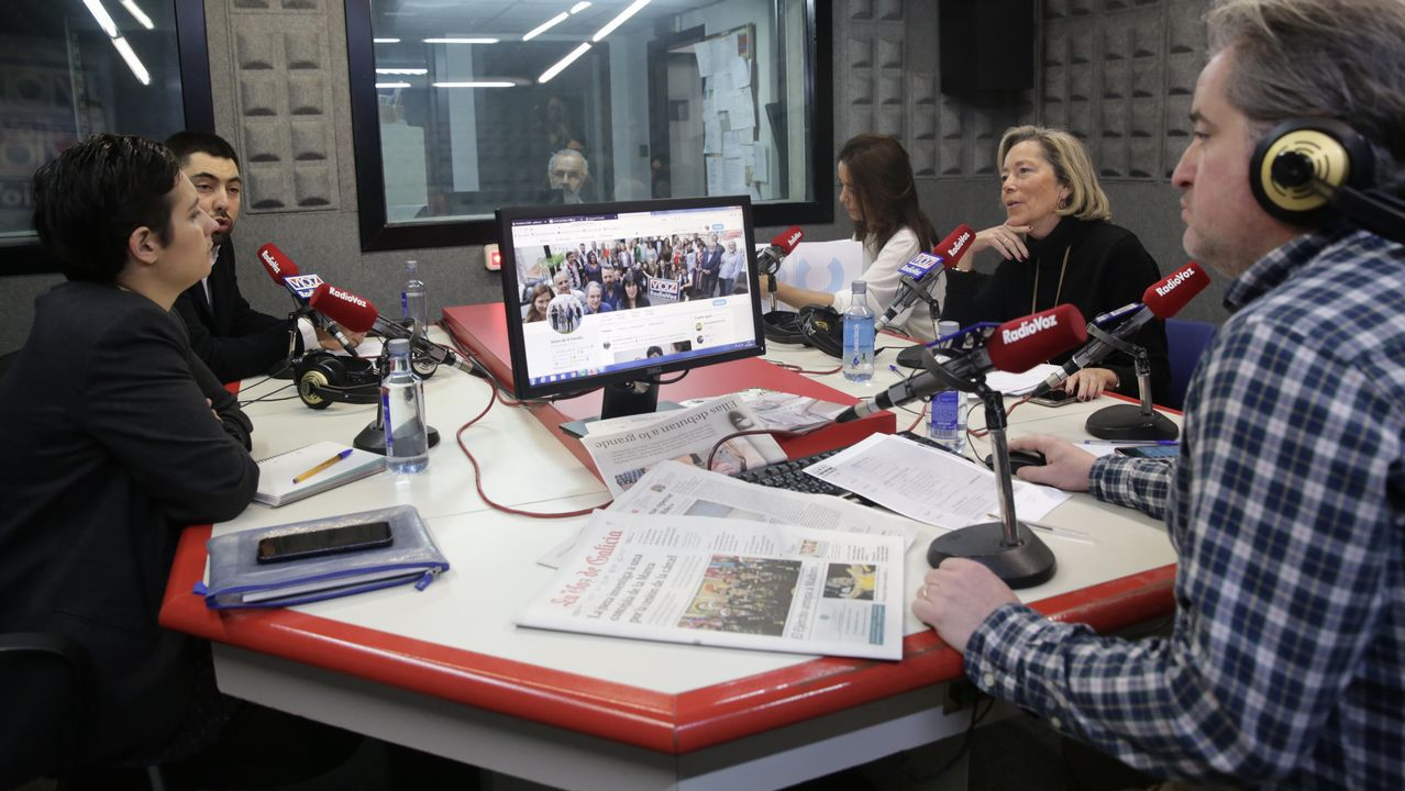 debate de portavoces en Radio Voz