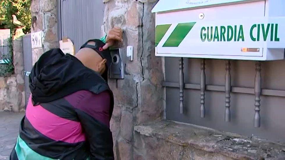 La mente del asesino confeso de Pioz.La sospechosa fue interceptada en los pasillos del hospital de Guadalajara