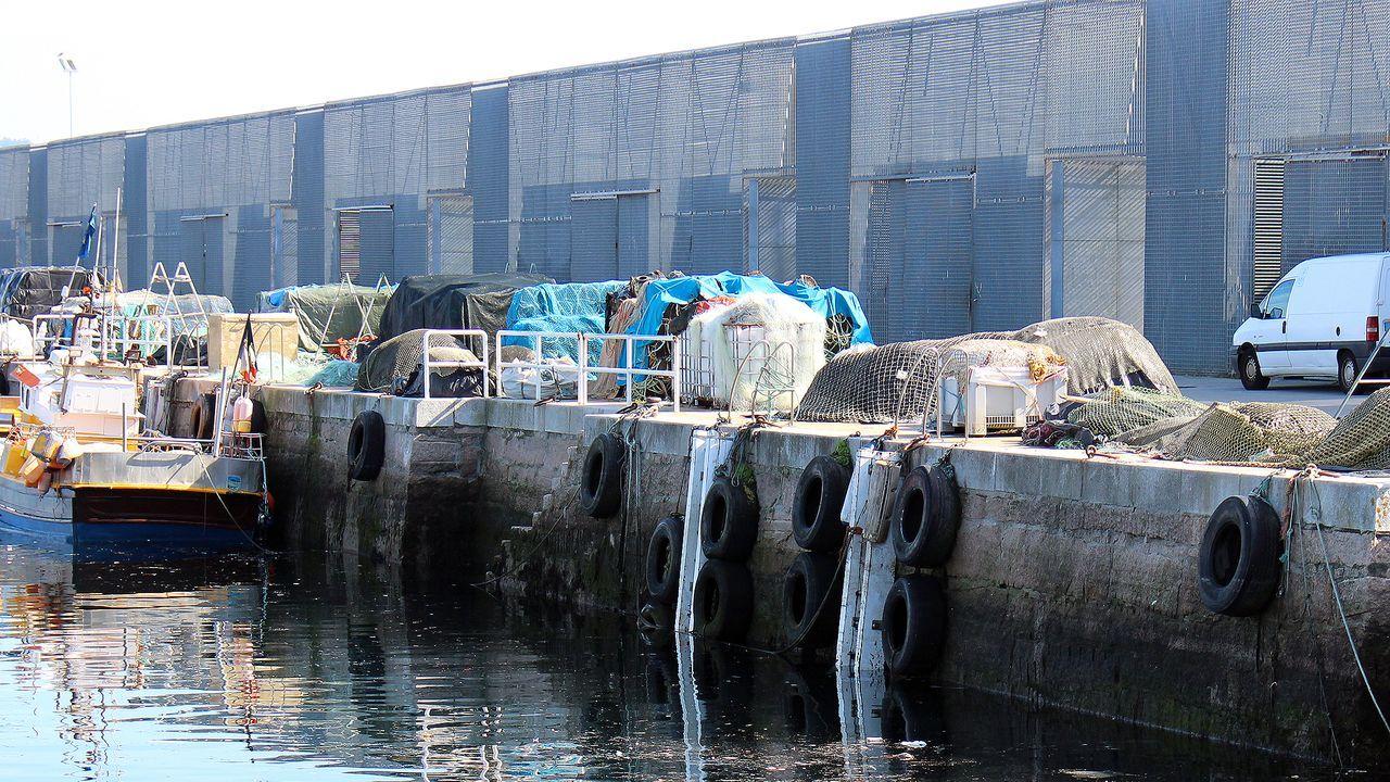 Las casetas de los marineros fueron una polémica obra en Ganas, en el dique rompeolas