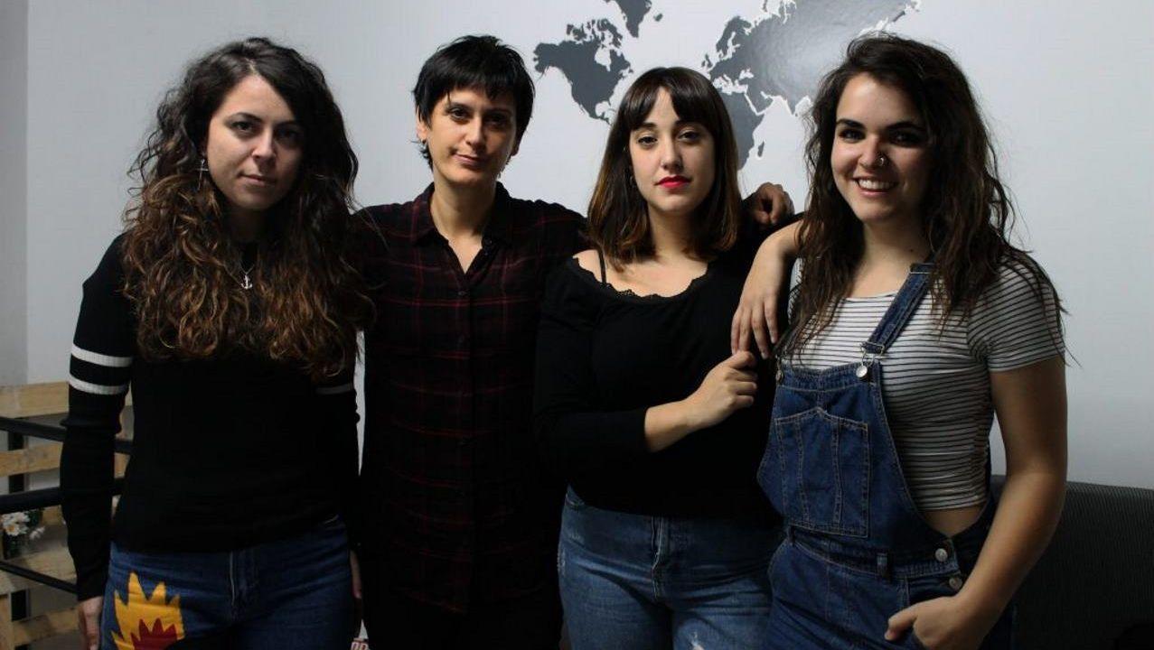Agoraphobia, el grupo de música de indie rock nacido en Boiro en 2006