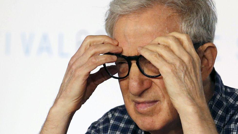 Woody Allen cumple 80 años.Castro sitúa a súa novela en Teis