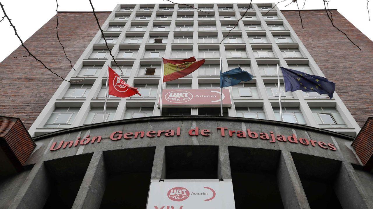 Sede del sindicato UGT- Asturias en Oviedo