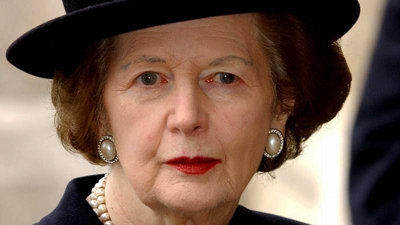 Por expreso deseo de Thatcher en el funeral participaron representantes de los tres ejércitos.
