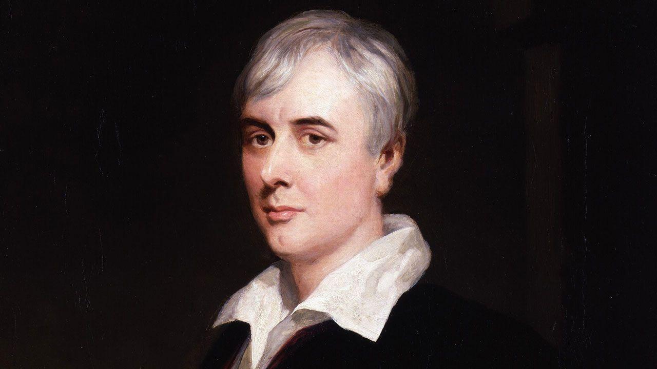 Retrato de George Borrow por Henry Wyndham Phillips (detalle)
