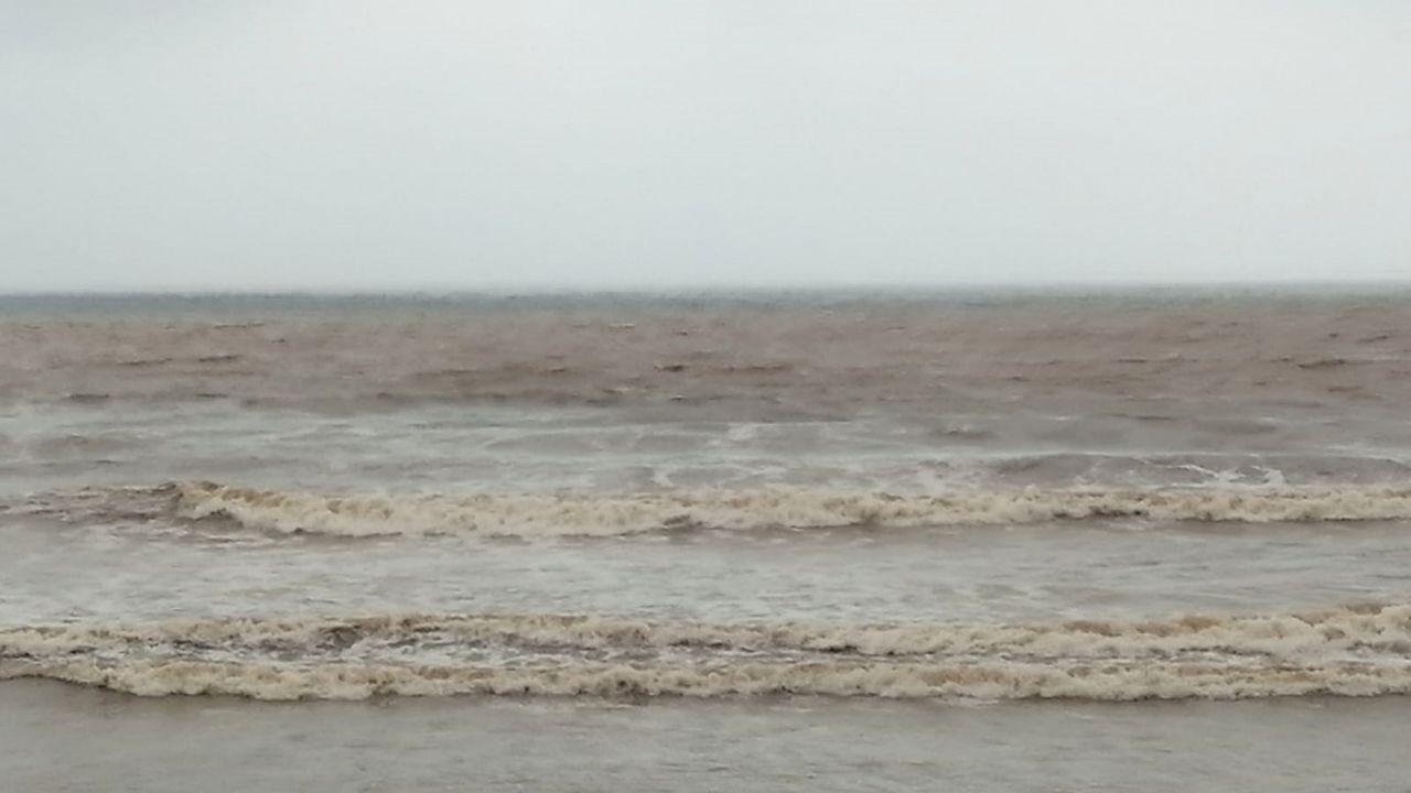 Imagen del agua en San Lorenzo