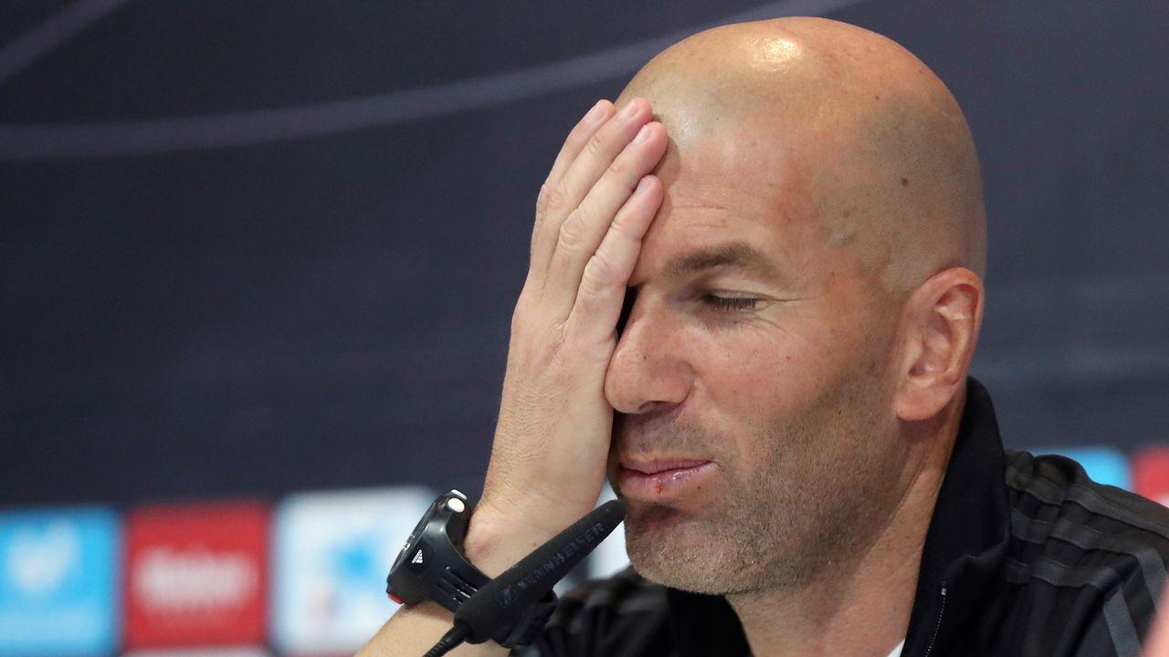 Zidane, sobre el fichaje de Kepa: «No necesito a nadie».El presidente de ACS, Florentino Pérez