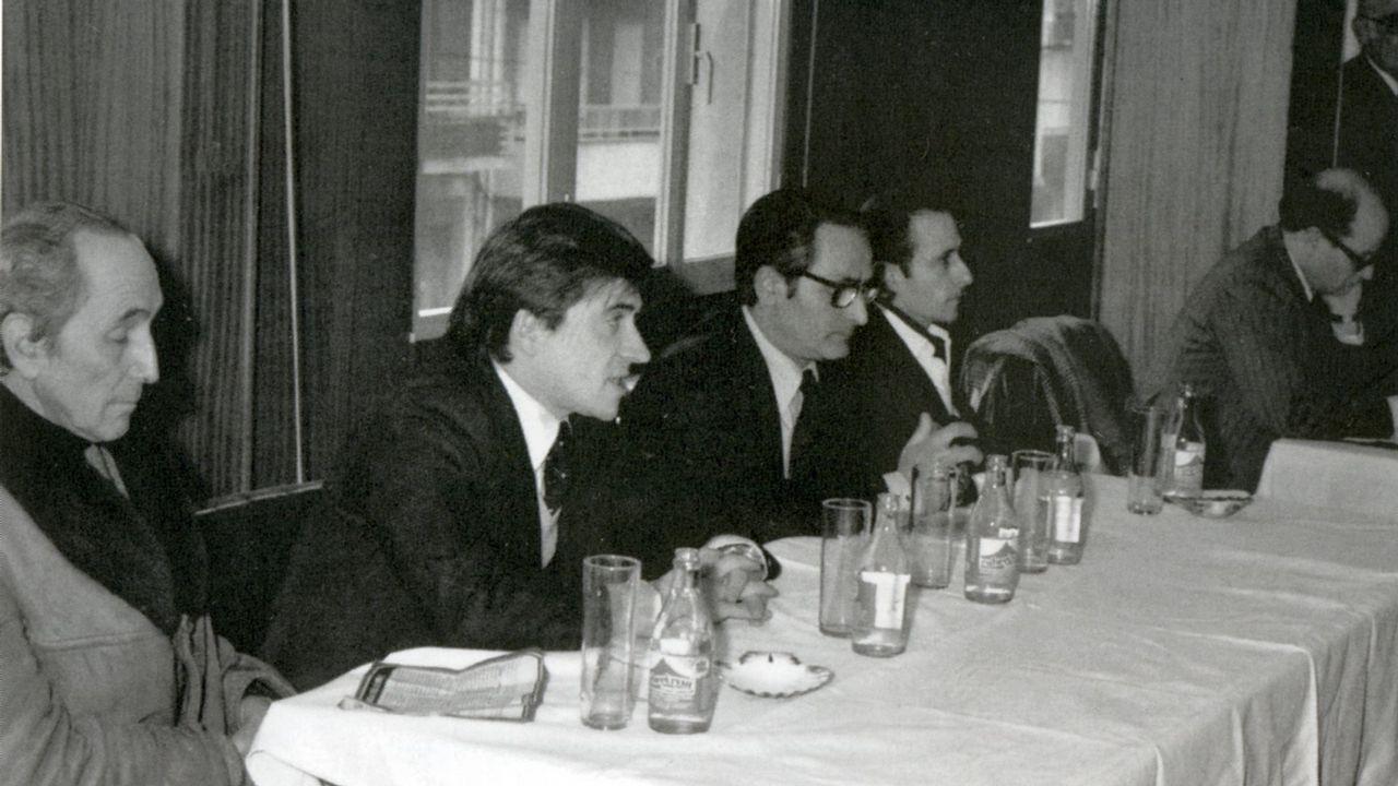El PP enfrenta la memoria de Fraga frente a Abascal.Cuíña, candidato en 1979 a la alcaldia de Lalín