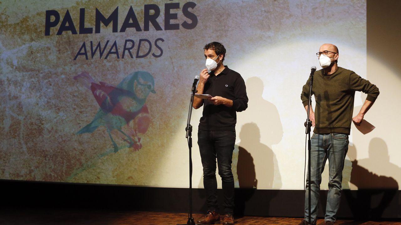 Entrega de premios do festival Novos CInemas, en Pontevedra