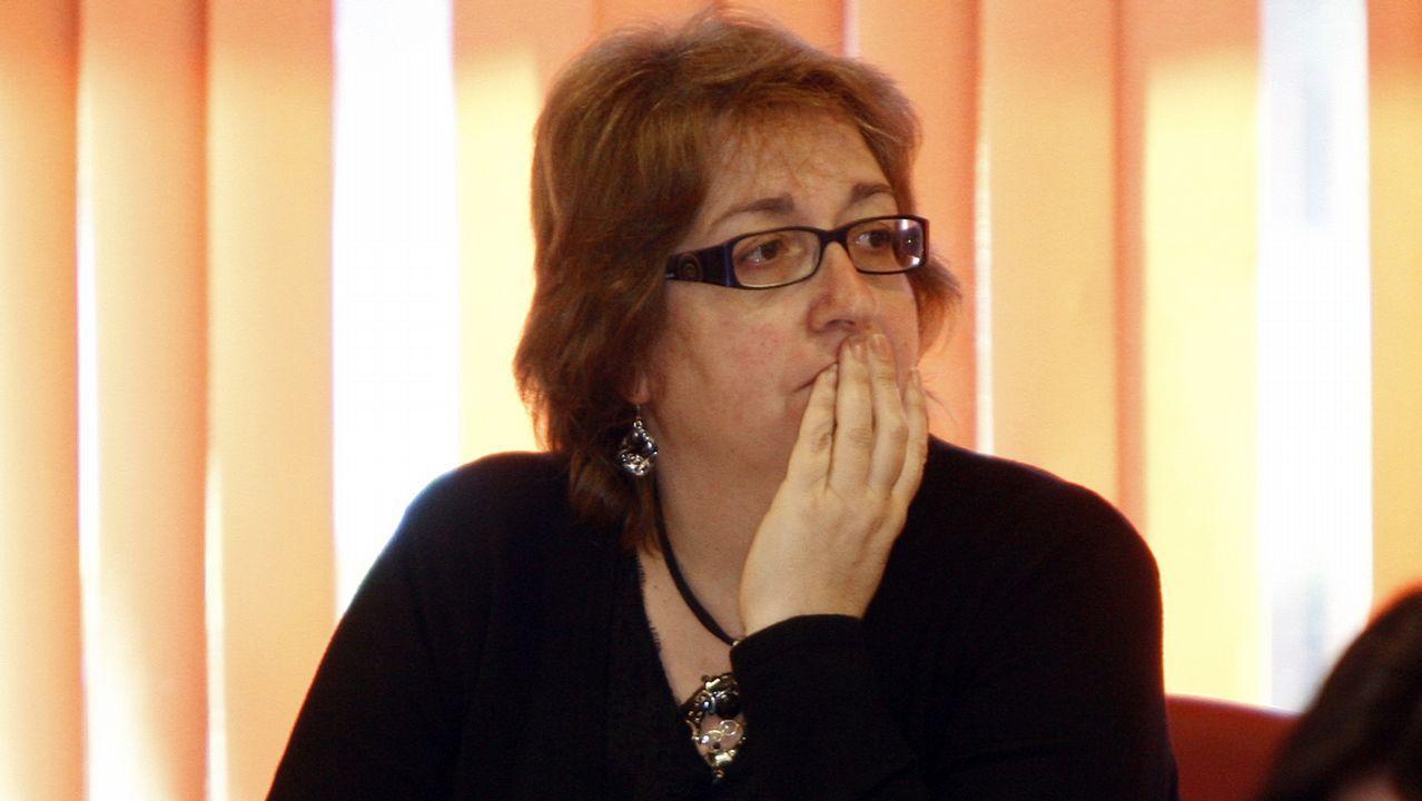 OLGA ALONSO. Número 1 del PSOE por la provincia de Pontevedra