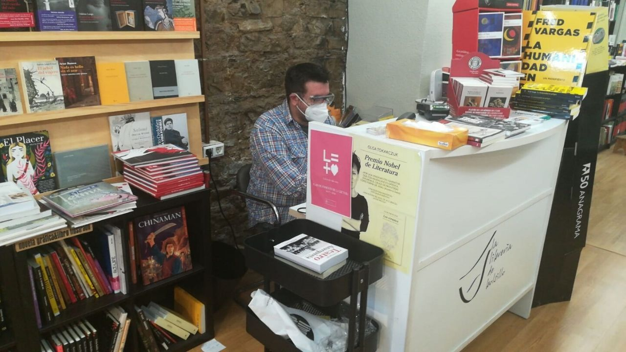 Valen Tejeiro en La Librería de bolsillo