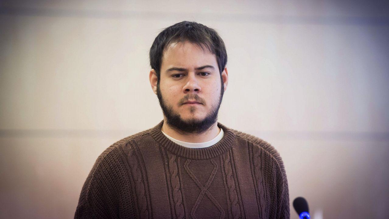 El álbum personal de Ignacio Villaverde.El rapero, durante un juicio en la Audiencia Nacional