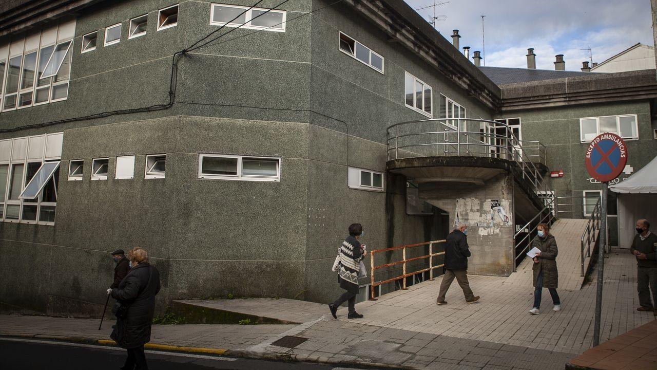 Centro de salud de Noia, concello en el que se ha producido un repunte de casos en la última semana junto con Ribeira