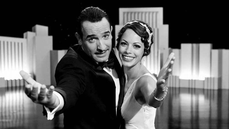 Jean Dujardin y Berenice Bejo, en «The Artist».