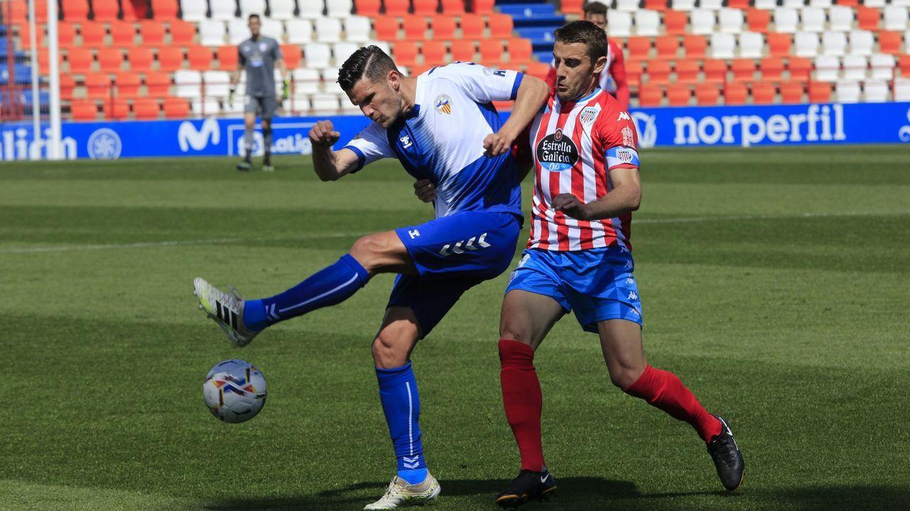Imagen del Lugo-Sabadell de esta temporada