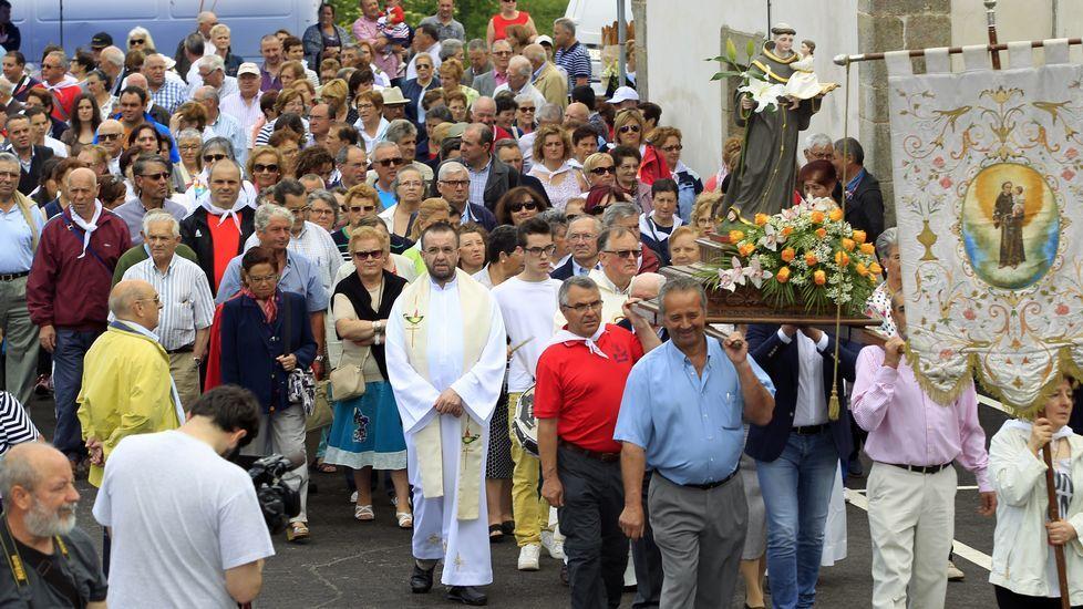 Día grande en San Antonio da Rigueira
