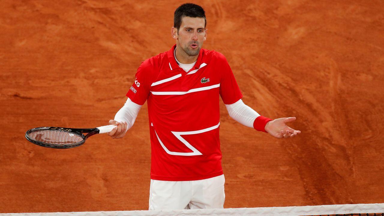 Fernando Vázquez: «<span lang= gl >Hai grandes xogadores, e hai grandes entrenadores en tódolos equipos de Segunda B</span>».Pablo Carreño, durante su partido en Roland Garros contra el alemán Daniel Altmaier