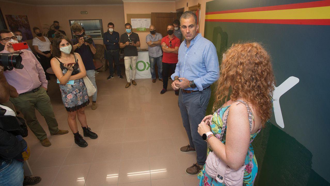 Ortega Smith apadrina la sede de Vox en Lugo