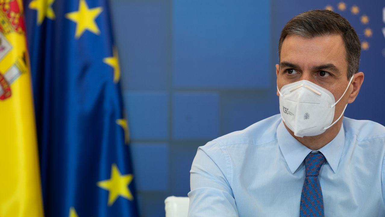 Las irregularidades en las vacunaciones se suceden.El productor televisivo Josep Maria Mainat, este viernes, a su salida del juzgado