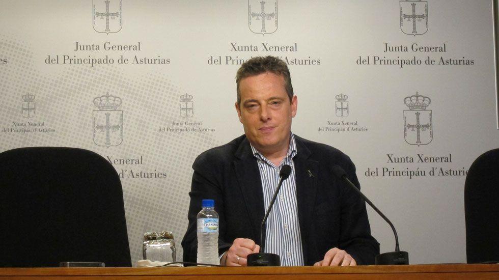 Los actos de la entrega de Medallas de Asturias.Marcelino Marcos