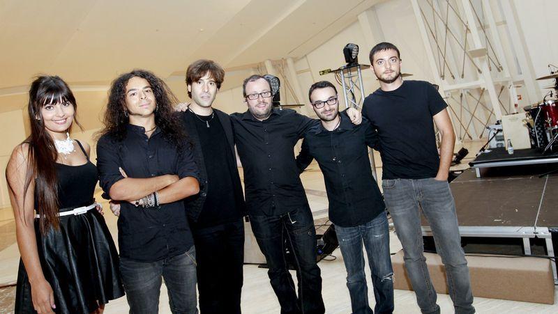A película de Álex Sampayo, na presentación do Festival Internacional de Cine de Ourense